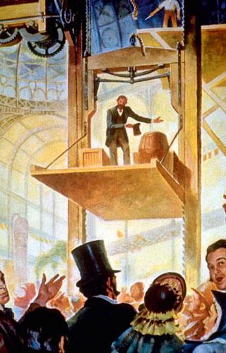 изобретатель лифта