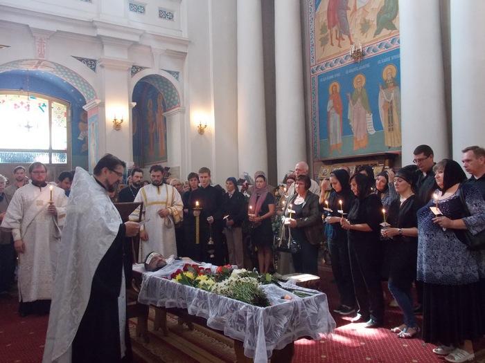 отпевание, Витебск, Карпан, православие, Корженевский