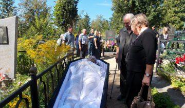 Резниченко, Витебск, кладбище, похороны