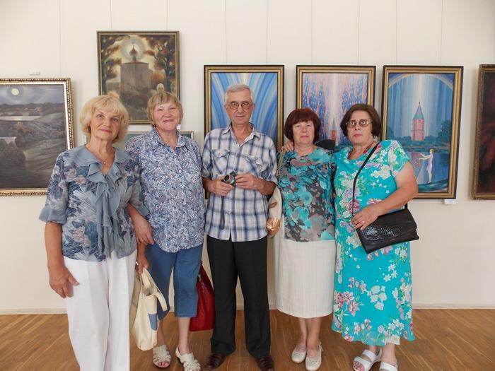 Ткачёв, Витебск, выставка, живопись, музей, память