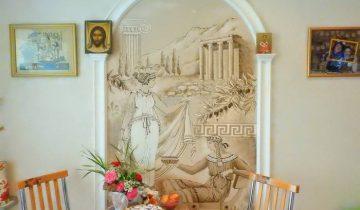 Роспись стены - автро Светлана Хмыльнина. Фото Светлана Васильева