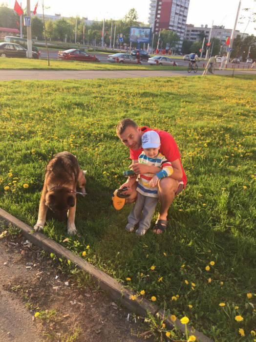 Собака была с семьей везде. Фото из личного архива Анны Савко