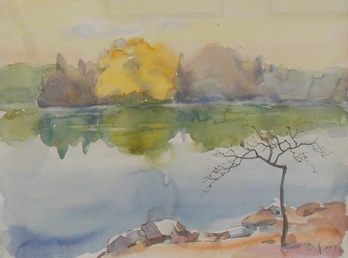 Вэн, Цзяньцин, озеро, Китай