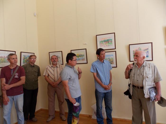 Шкуратов, Вэн, Цзяньцин, Энэлоника, Витебск, акварель