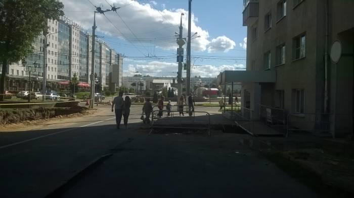 Пешеходная дорожка. Фото Анастасии Вереск