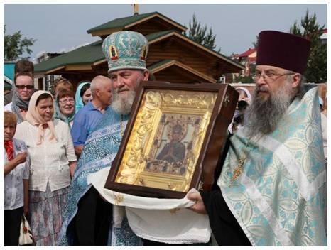 """Икона Божией Матери """"Семистрельная"""" особо почитается верующими. Фото rostur.ru"""