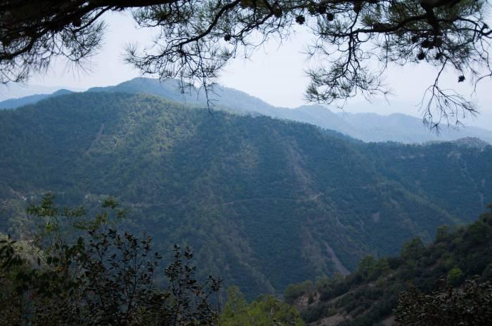 Горы на Кипре прекрасны, как сказка. Фото Анастасии Вереск