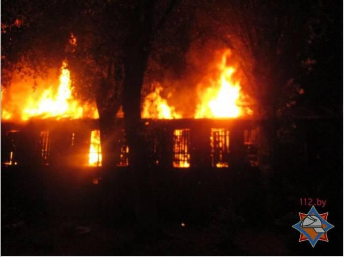 пожар, Витебск