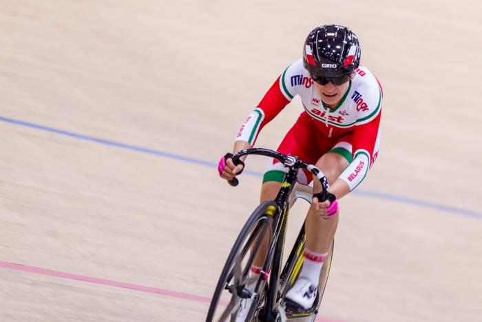Велосипедистка Татьяна Шаракова заняла 9-е место. Фото Reuters