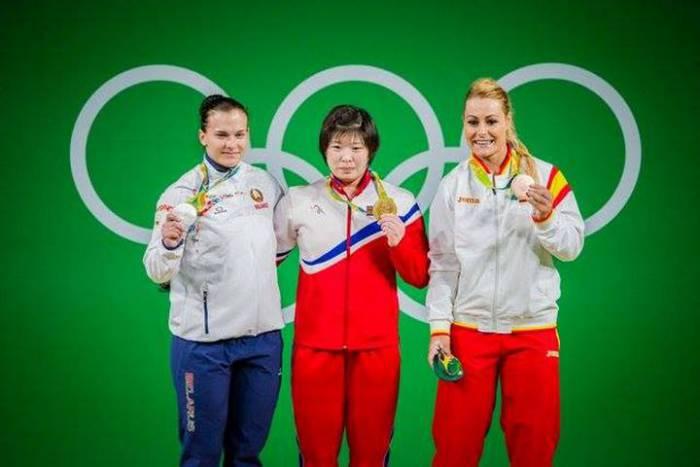 Первая медалистка Беларуси в Рио-2016 Дарья Наумова. Фото: noc.by