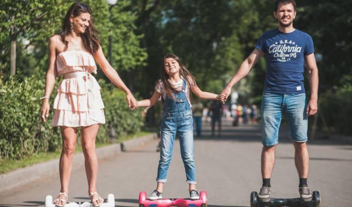 Езда на гироскутерах - новое европейское увлечение! Фото inzn.ru