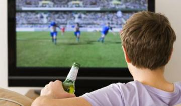 пиво, футбол