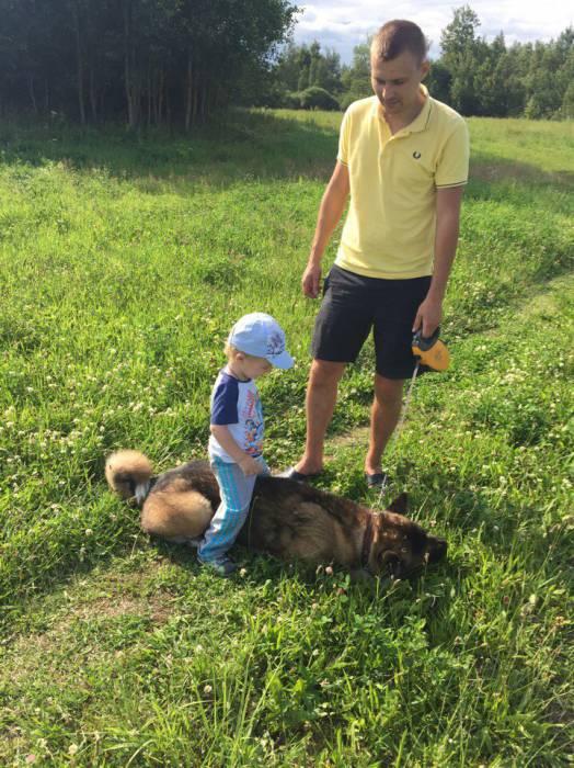 Все, что осталось у семьи Савко, это фотографии с любимой собакой. Фото из личного архива Анны Савко