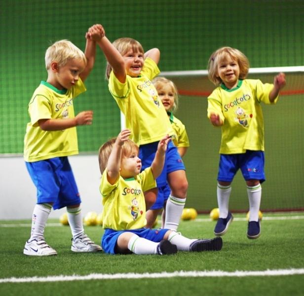 Самым маленьким спорт также необходим. Фото rfs21.ru