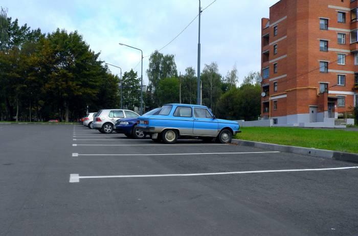 новая парковка