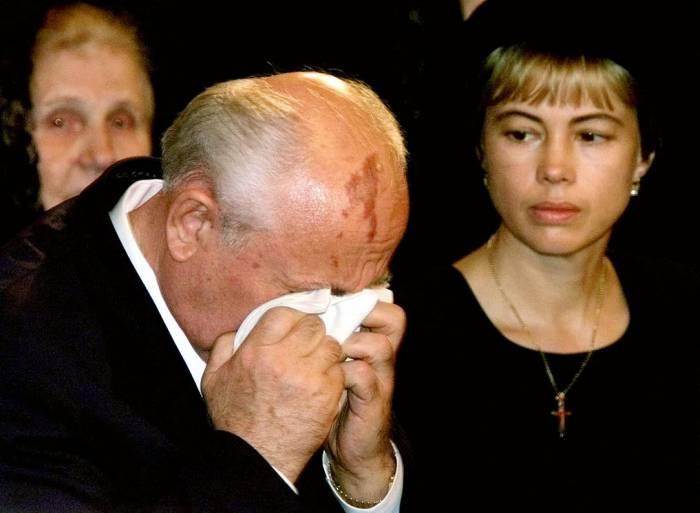 Прощание с Раисой Горбачевой