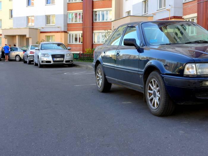 Конфликт из-за парковки