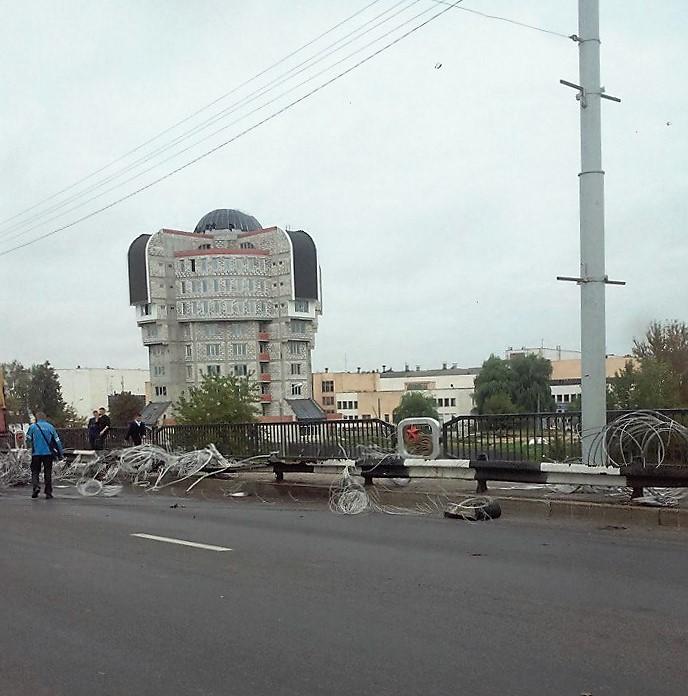 мост блохина, дтп