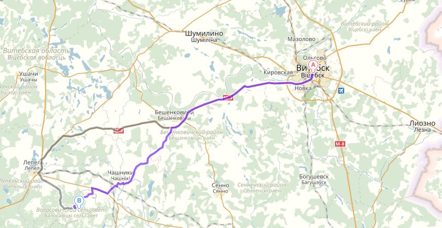 Как доехать до Торонковичей