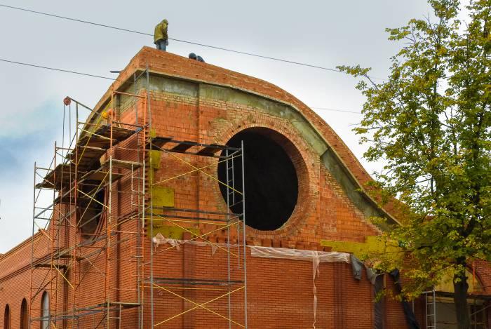 Строительство новой синагоги