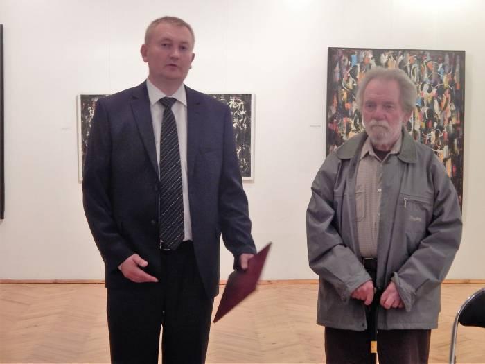 художник соловьев, юбилейная выставка в ВЦСИ