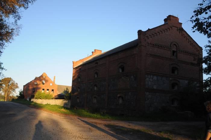 Здание бывшего склада. Фото Анастасии Вереск