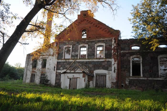 Руины бровара, бывший спиртзавод. Фото Анастасии Вереск