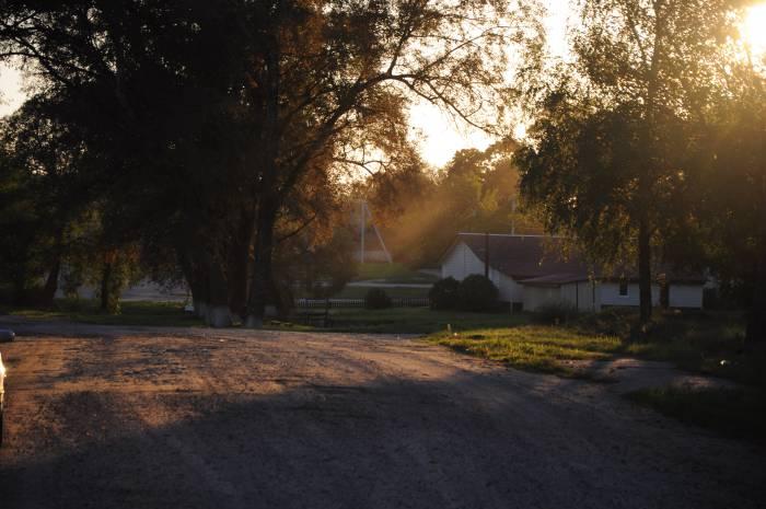 Деревня Пламя. Фото Анастасии Вереск