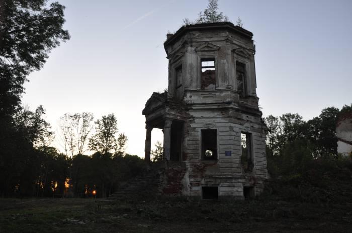 Башня и остатки усадьбы. Фото Анастасии Вереск
