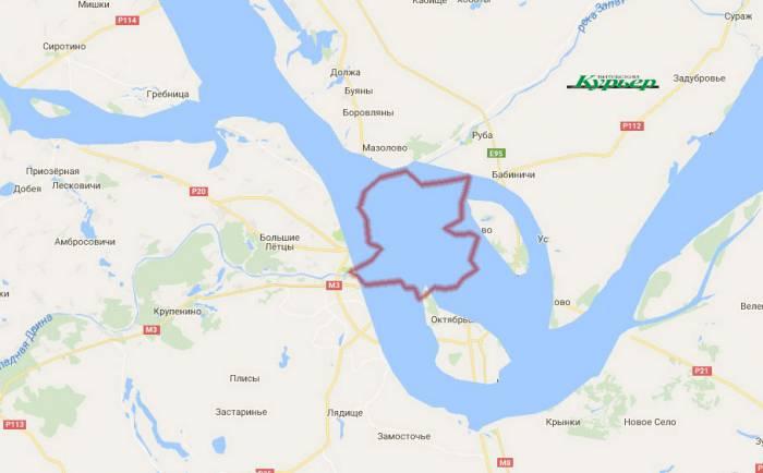 Если бы река текал в Витебске - Енисей