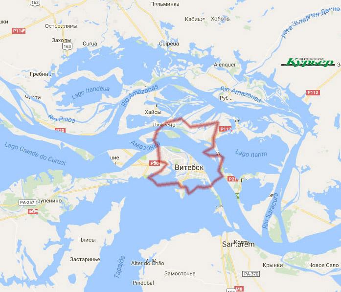Если бы река текла в Витебске - Амазонка