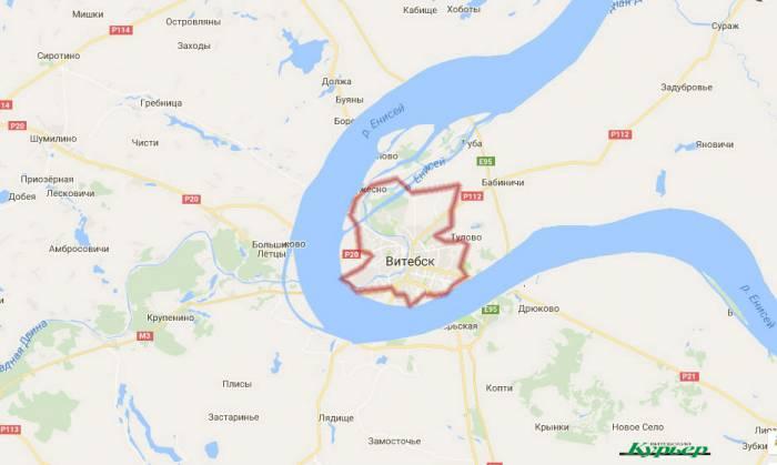 Если бы река текла в Витебске - Енисей среднее течение