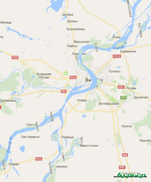Если бы река текла в Витебске - Волга в нижнем течении