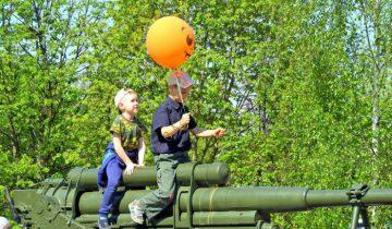 Веселое развлечение для самых маленьких? Фото Светланы Васильевой