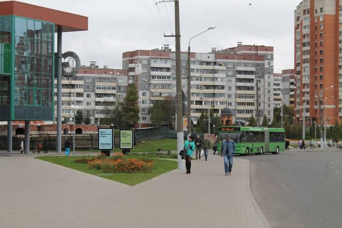 автобус, велосипед