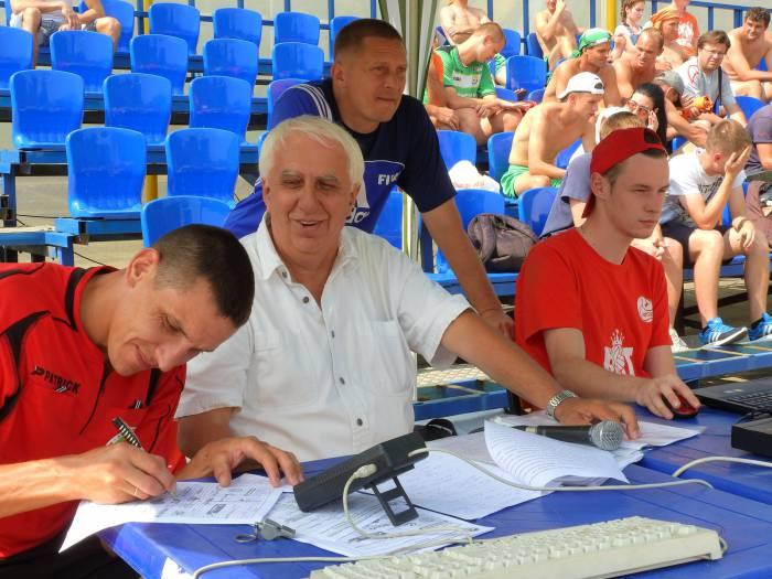 спортивный комментатор Владимир Новицкий