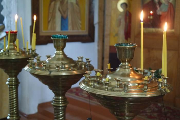 свечи, церковь