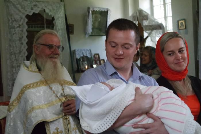 крещение, церковь