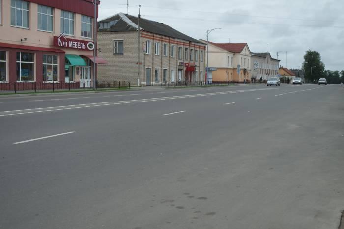 Центральная дорогаю Улица Коммунистическая. Фото Александры Мирной.