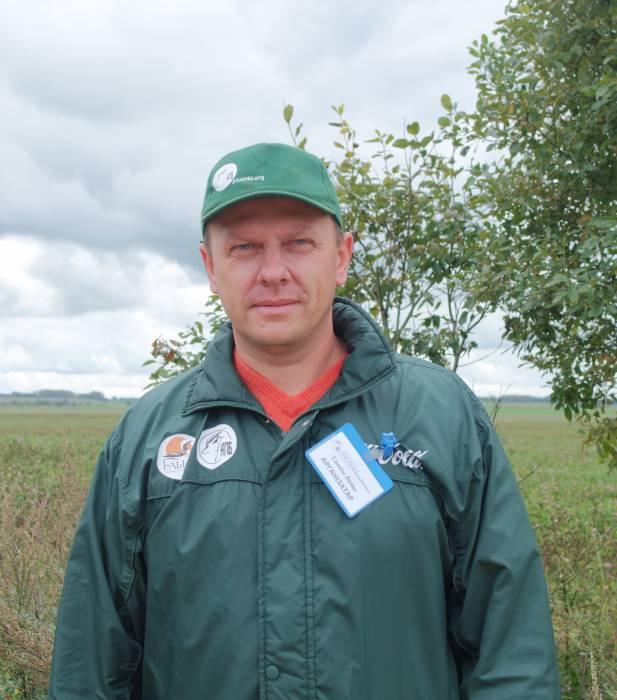 Семён Левый- орнитолог. Фото Александры Мирной