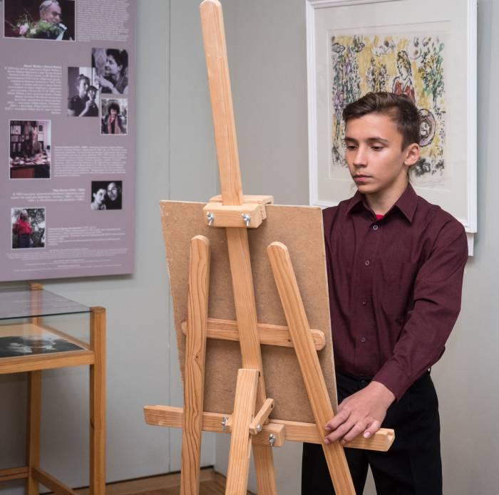 музею Марка Шагала 25 лет, юный художник