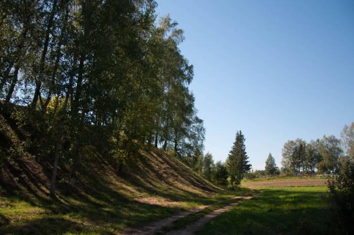 Древнее городище в Черее. Фото Анастасии Вереск