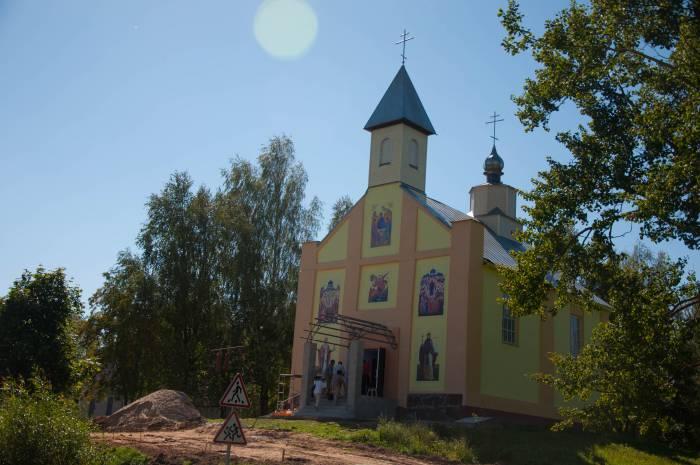 Церковь святого Михаила после восстановления. Фото Анастасии Вереск
