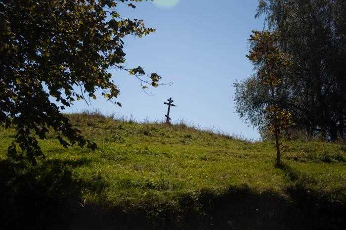 Здесь стояла Успенская церковь. Фото Анастасии Вереск