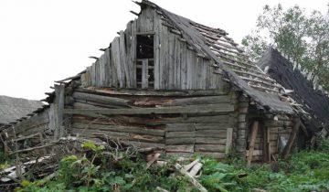 дом, заброшенный, старый