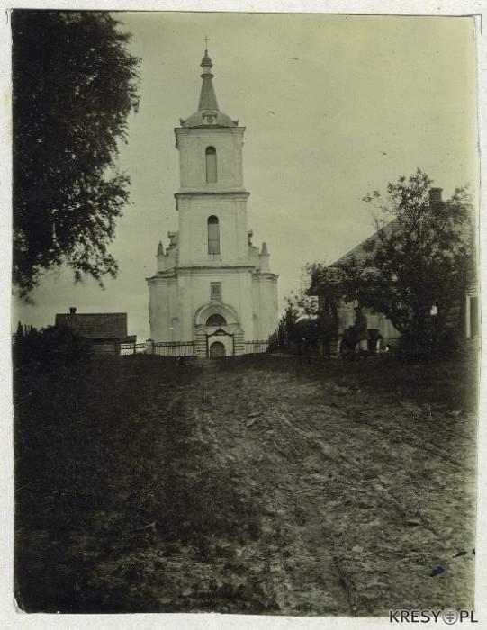 Так выглядел Свято-Троицкий храм до своего разрушения. Фото: kresy.pl