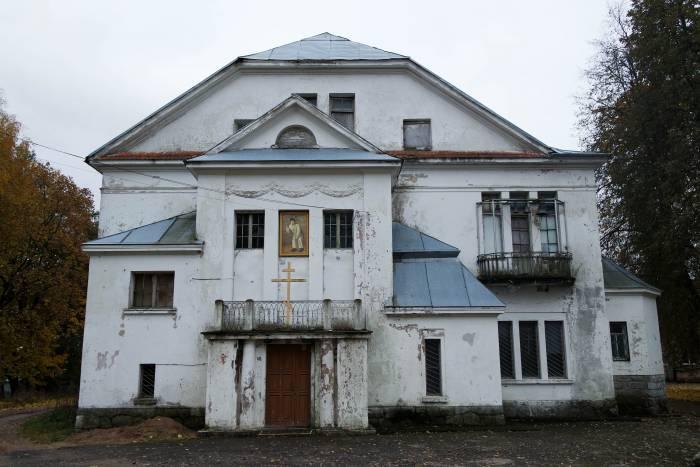 Теперь в усадьбе расположен приход имени преподобного Серафима Саровского. Фото Анастасии Вереск