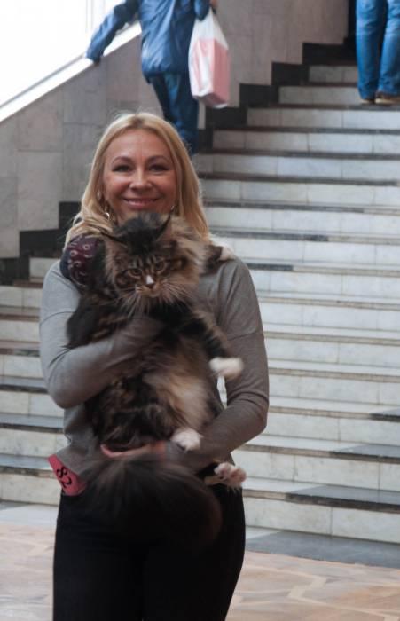 Если кот доволен, то и хозяин счастлив. Фото Анастасии Вереск