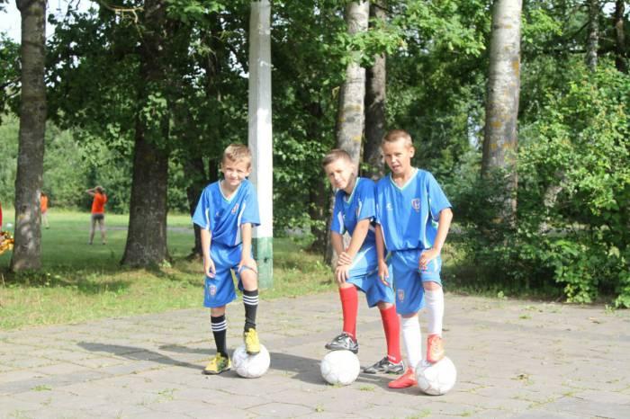 Юные спортсмены