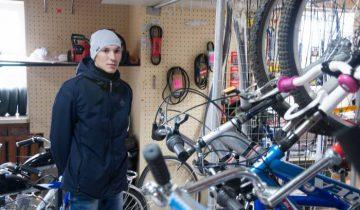 Денис Старовойтов, индивидуальный предприниматель из Новолукомля. Фото Анастасии Вереск